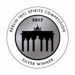 2017 Berlin International Spirits Competition Silver Winner