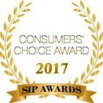 2017 SIP Awards Consumers Choice Award