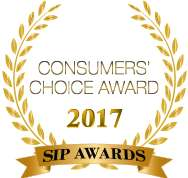 2017 SIP Awards Consumers Choice Award